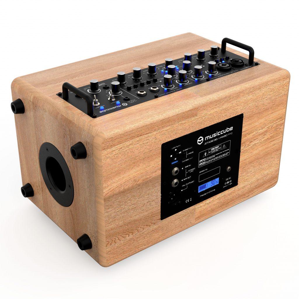 Musiccube MA90 Pro - back