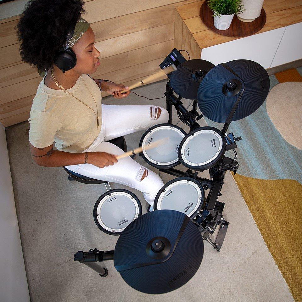 Roland TD-07KV - playing